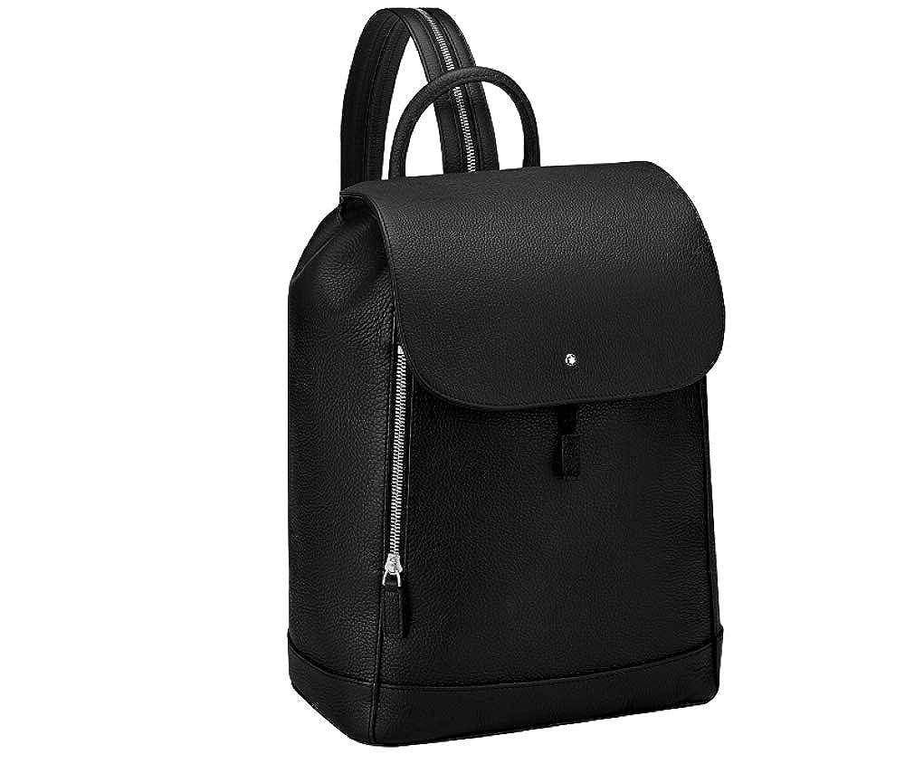 (モンブラン) MONTBLANC バッグ リュック マスターピースソフトグレインリュックサックミディアム (並行輸入品) One Size ブラック B07H6ZDTHM