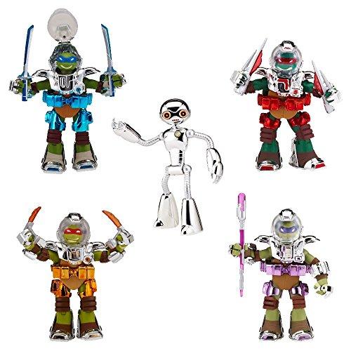 Teenage Mutant Ninja Turtles Nickelodeon Metal Mutant 5-Pack 5