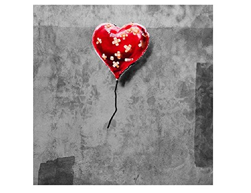Alonline Art - Balloon Heart Plaster Banksy VINYL STICKER DECAL 35
