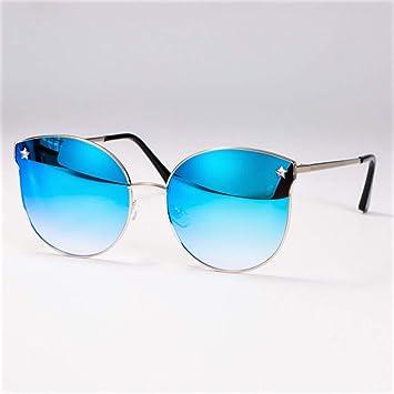 KUNHAN Mujer Gafas De Gafas De Sol De Cristal para Mujer ...