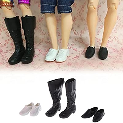 Kofun Combination Shoes, 3 Styles Combination Cusp Shoes Leather Shoes Boots Accessories for Ken Doll Ideal Christmas Birthday Combination Shoes Gift for Kids: Home & Kitchen