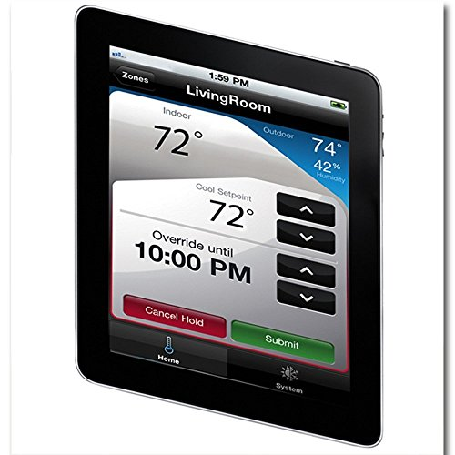 honeywell rth9580wf smart wi fi 7 day programmable color touch thermostat works with amazon. Black Bedroom Furniture Sets. Home Design Ideas