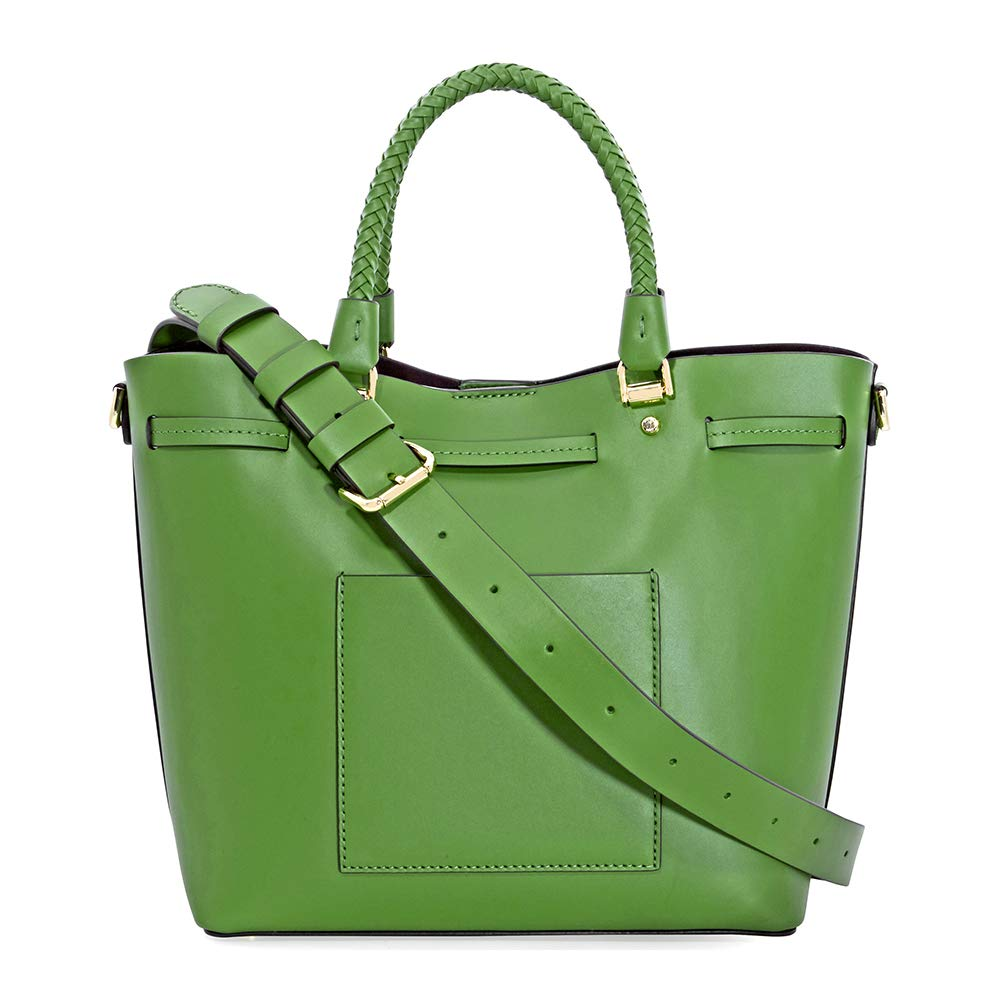 Michael Kors Blakely Medium Bucket Bag- True Green  Amazon.co.uk  Shoes    Bags 0ec0b8117786e