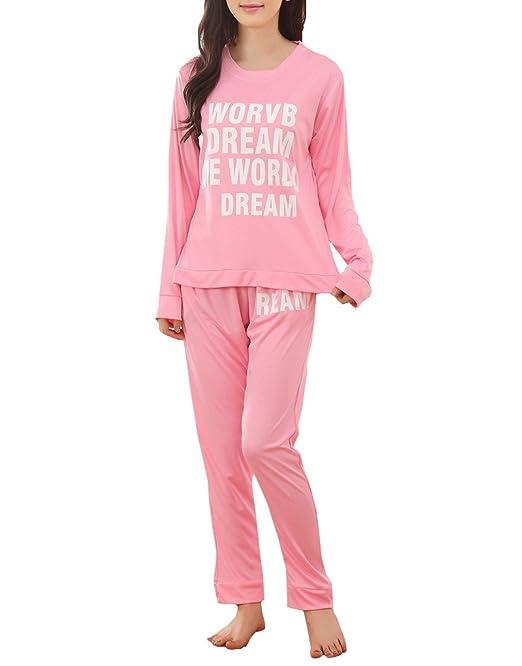 Ventelan - Pijama - para mujer Rosa rosa Medium