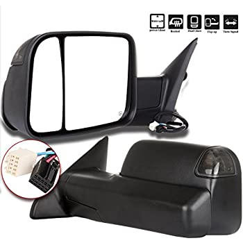 Amazon Com Towing Mirrors Compatible For Dodge Ram Yitamotor Power
