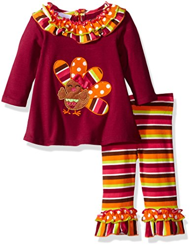 Bonnie Baby Girls' Turkey Knit Playwear