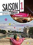 capa de Saison 1 Livre D´Élève A1 (+CD Audio + DVD)