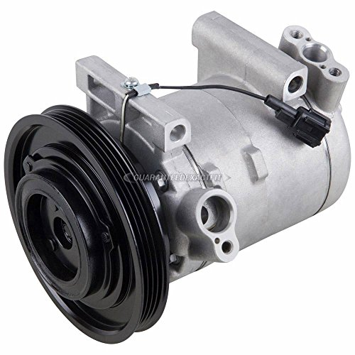 (AC Compressor & A/C Clutch For Nissan Frontier Xterra V6 Non-Supercharged 1999 2000 2001 2002 2003 2004 - BuyAutoParts 60-01488NA NEW)