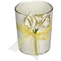 Fashioncraft Gold Calla Lily Design Votive Candle Holder