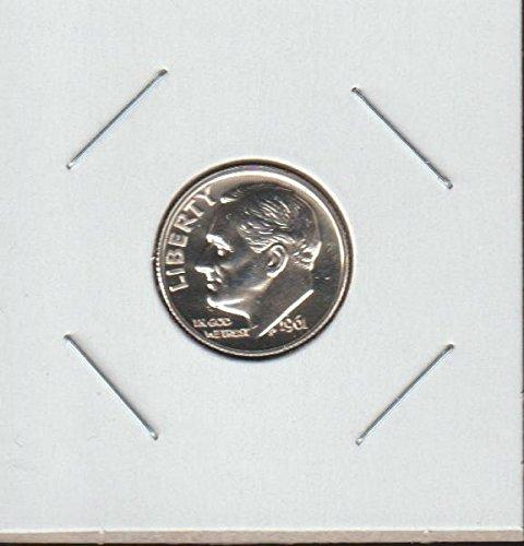 1961 Roosevelt (1946-to Date) Dime Superb Gem Proof US Mint