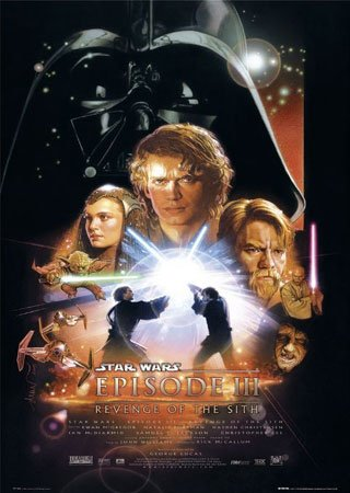 Star Wars Episode 3 Film Kino Movie Poster ca. 68.5 cm x 101.5 cm