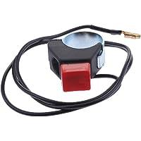 Botón de Interruptor de Encendido/Apagado Parada Manillar 22mm