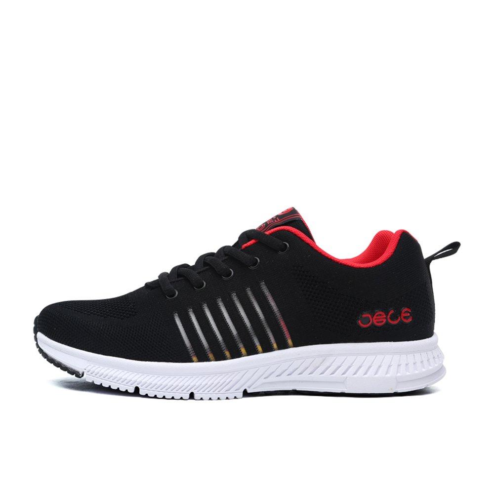 Zapatillas Deportivas de Hombre Sneakers Running Calzado Deportivo Tenis Antideslizante a Prueba de Golpes Negro 39(Recomendar tamaño uno más): Amazon.es: Zapatos y complementos