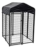 Image of Lucky Dog Uptown Welded Wire Kennel (6'Hx4'Wx4'L)
