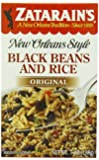 Zatarain's New Orleans Style Black Beans & Rice, 7-Ounce Boxes (Pack of 12)