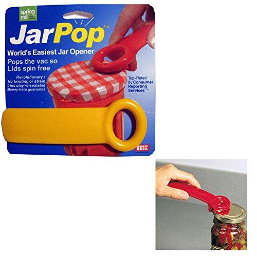Harold Import Company Brix Original Easy Jar Key Opener, 5.62-Inch, Red