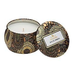 Voluspa Baltic Amber Petite Tin Candle, ...