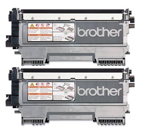 Genuine Brother TN450 (TN-450) Black Toner Cartridge 2-Pack