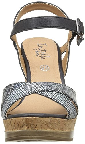 Initiale Carat, Women's Sandals Black