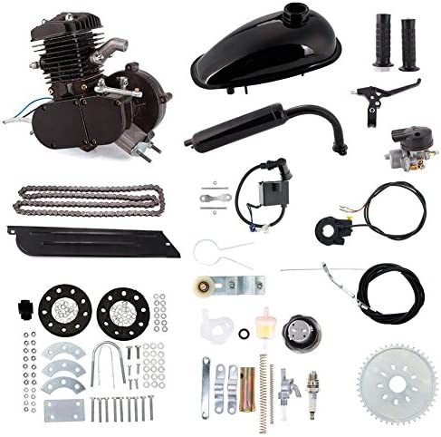 Niome 80cc 2-Stroke Bicycle Gasoline Engine Air-Cooled Motor Kit for Motorized Bicycle Push Bike