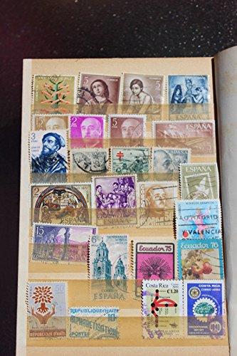 Collection of stamps Spain, Costa Rica, Ecuador