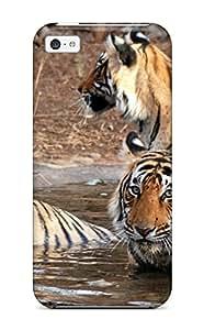 Brooke Galit Grutman's Shop Hot Premium Durable Tiger Fashion Tpu Iphone 5c Protective Case Cover 6132573K98699202