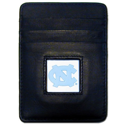 Siskiyou NCAA North Carolina Tar Heels Leather Money Clip/Cardholder