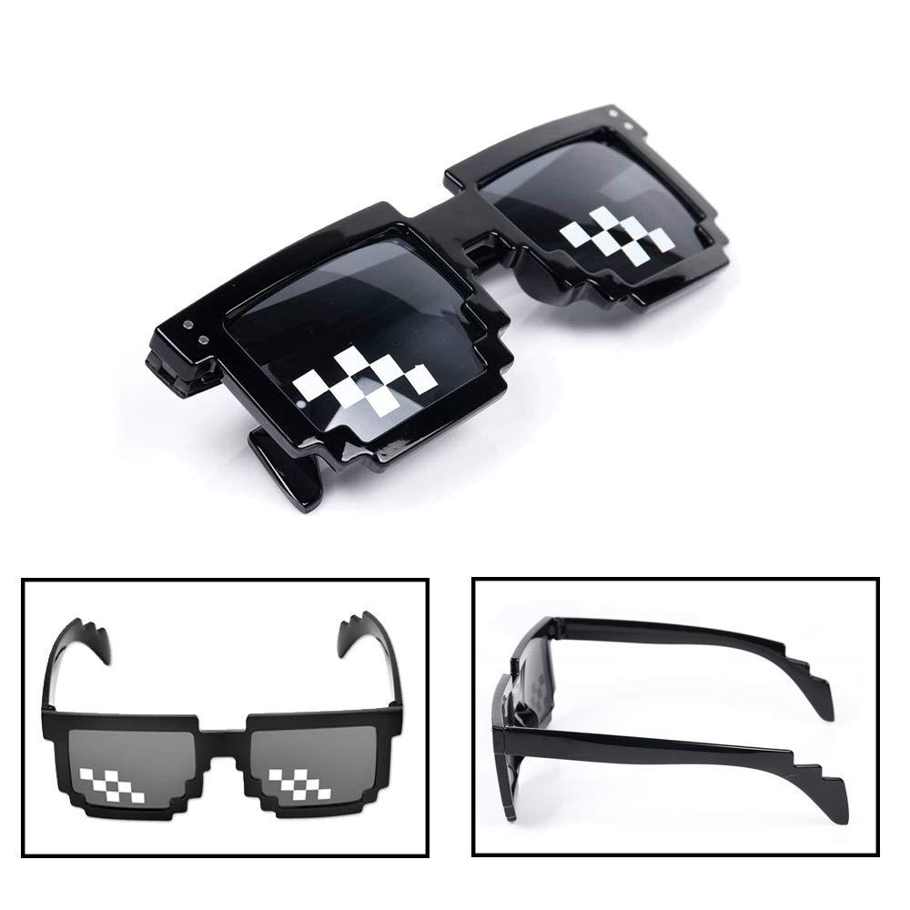 8c9b84a0bf LAKIND gafas pixeladas 6-pack gafas de sol mosaico Mosaico Ojo Vintage  Desgaste (6-PACK): Amazon.es: Hogar