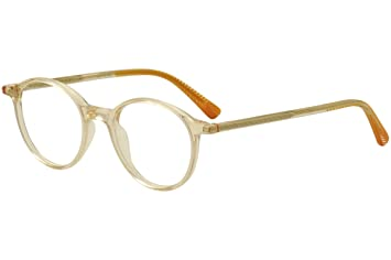 5be9b12cb3a9 Image Unavailable. Image not available for. Color  Etnia Barcelona  Eyeglasses Pearl District Clear Orange Optical ...