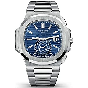 51WUcHGfy3L. SS300  - Patek Philippe Nautilus 40th Anniversary Limited Edition 18K White Gold Watch 5976/1G-001