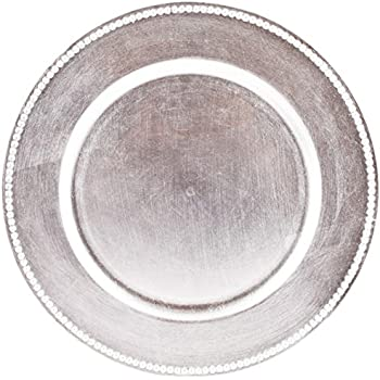 silver charger plates wholesale uk cheap pack dollar store