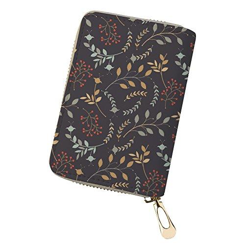 Mertin Ladies Credit Card Holder PU Leather RFID Blocking Gift Box CC4210 ONE SIZE (Best Credit Card Signup Bonus Offers)