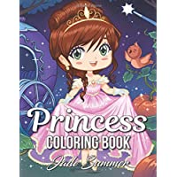 Princess Coloring Book: An Adult Coloring Book with Cute Kawaii Princesses, Classic Fairy Tales, and Relaxing Fantasy Scenes (Princess Gifts for Relaxation)
