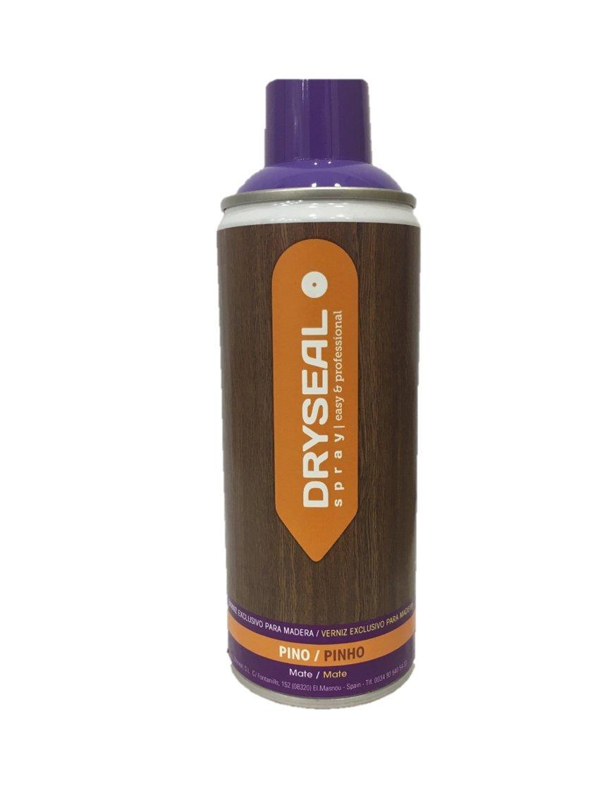 DRYSEAL BZM04 Barniz Exclusivo para Madera, Pino, 400 ml
