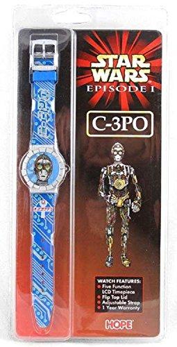 - Star Wars Episode 1 C-3PO HOPE watch (japan import)