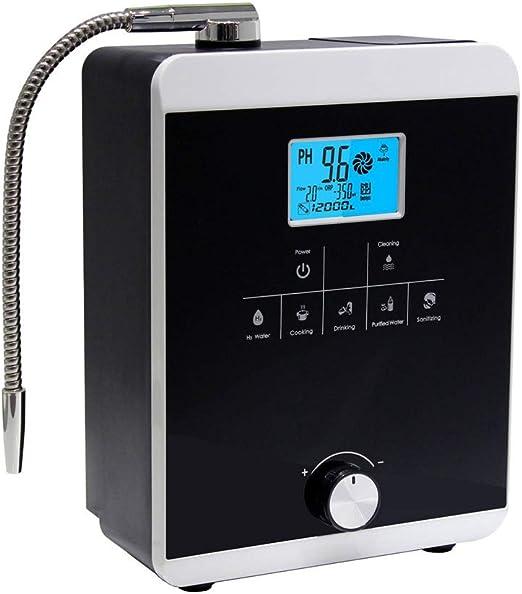 MIJOGO Multifuncional ionizador de Agua purificador de la máquina PH10.5-3.5 Auto-Limpieza / 12000 litros por Filtro / 5 Ajustes de Agua Rica en hidrógeno de la máquina de Agua: Amazon.es: Hogar