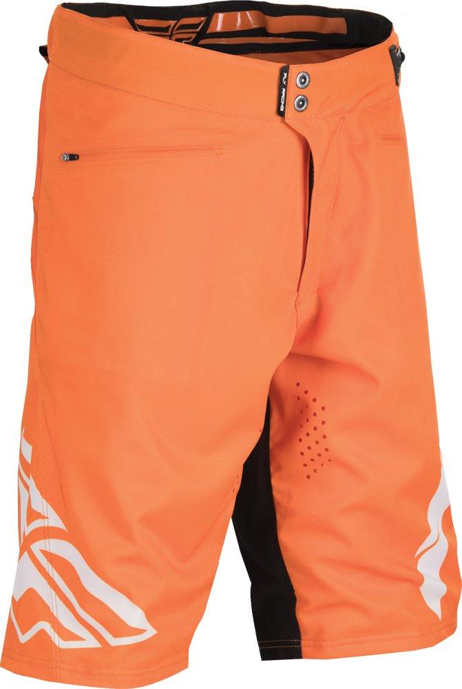 Fly Racing Unisex-Adult Radium Shorts (Orange/White, Size 36)