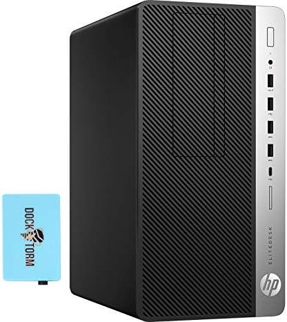 HP EliteDesk 705 G4 MT Home and Business Desktop Black (AMD A6-9500 2-Core, 16GB RAM, 2TB SATA SSD, AMD Radeon Graphics, 4xUSB 3.1, 3 Display Port (DP), Win 10 Pro) with Hub