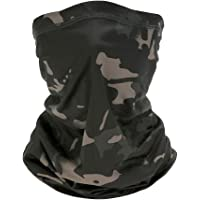 Face Scarfs Bandana Neck Warmer Lightweight Breathable Multifunctional Bandana Scarf Sun UV Protection Breathable Headbands for Motorcycles,Fishing,Hiking,Skiing,Cycling