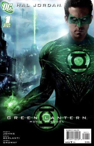 Hal Jordan Green Lantern Movie Prequel Comic Book