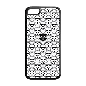 LJF phone case Godstore Star Wars iphone 4/4s Best Rubber Cover Case
