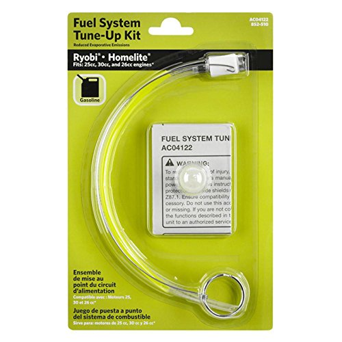 Ryobi AC04122 Primer Bulb and Fuel Line Kit for Ryobi and Homelite products
