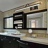 American Copper LED Mirror Front Light Simple Modern European Style Bathroom Light Mirror Bathroom Light Bathroom Mirror