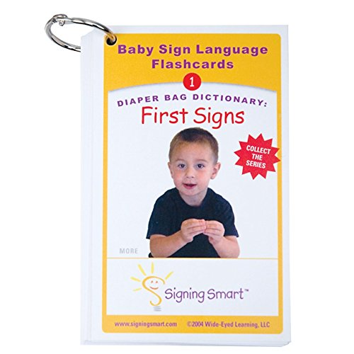 Diaper Bag Dictionary- First Signs Teaching Cards