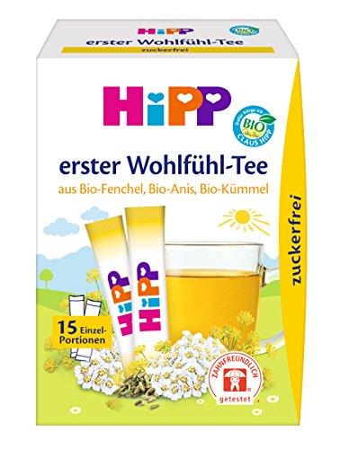 Hipp Erster Wohlfühl-Tee (zuckerfrei) 6er Pack (15 x 5, 4g) 3643