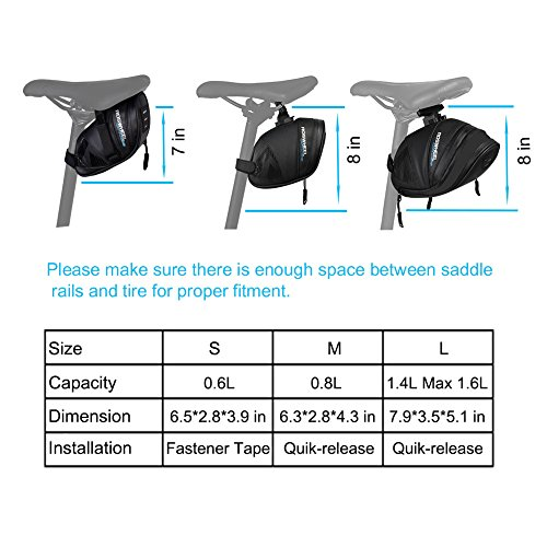 Buy under seat bike bag