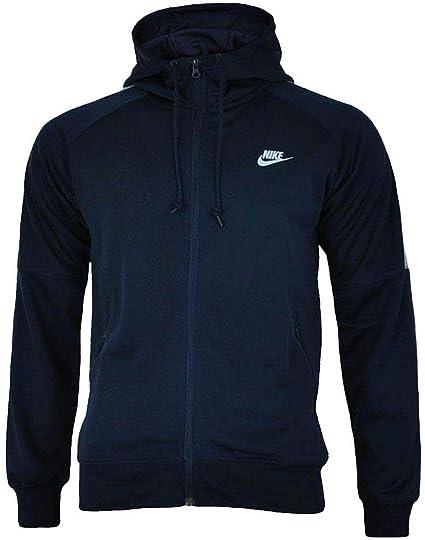 8ff9944eeace Nike Tribute Men s Hooded Track Full Zip Jacket (Navy