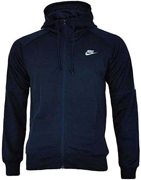 Nike - Sports jacket - for men Blue navy small