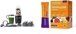 NutriBullet NB9-1301K Pro 13 Pcs Onyx Black with SuperFood Immune Defense Boosts