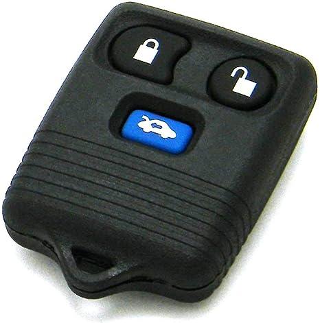 KeylessOption Keyless Entry Remote Car Key Fob 3-Button Transmitter for Mazda 626 1998-2002 FCC ID: CWTWB1U411, P//N: GD7D-675DY
